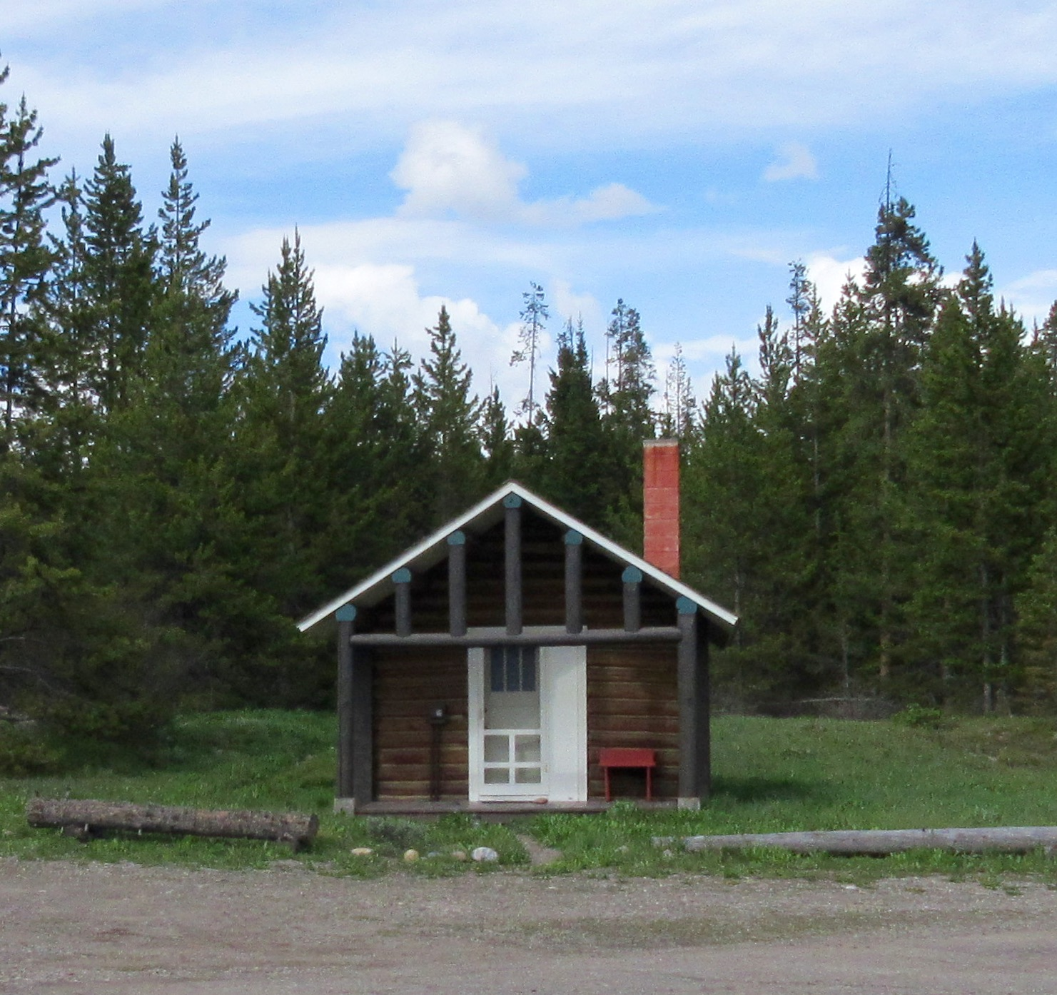 The shop cabin