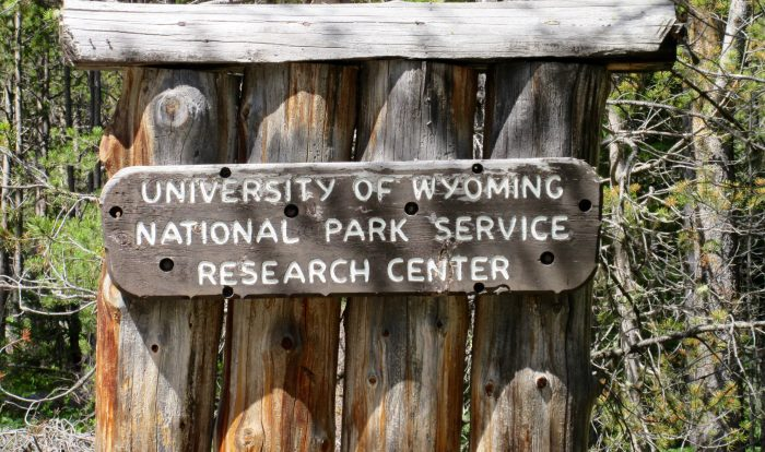 UW-NPS Research Center sign